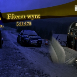Dirt Rally - 555 on Wales, H - Shifter + clutch, handbrake