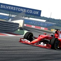 Assetto Corsa | Ferrari SF15-T @ Silverstone GP