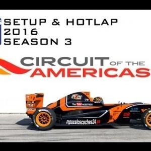 iRacing Formula Renault 2.0 @ Circuit Of Americas | Setup & Hotlap 2'04.894 | Season 3 - 2016