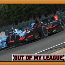 """iRacing: Out of My League"" (Verizon IndyCar Series - Round 2: Road America)"