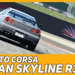 Assetto Corsa - Nissan Skyline R34 - Silverstone GP