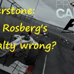 F1: Silverstone 2016 - Is Rosberg's penalty fair? [Project Cars]