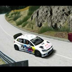 Assetto Corsa Polo WRC Glasbachrennen Bergrennen Hillclimb 2:50:111