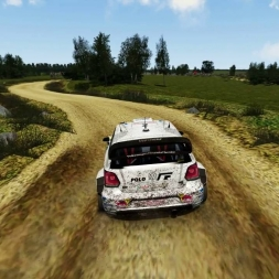 Assetto Corsa Polo WRC Rally Poland 2:56:027