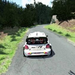 Assetto Corsa Polo WRC SS Hradek 3:53:993