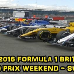 My 2016 Formula 1 British Grand Prix Weekend - Sunday