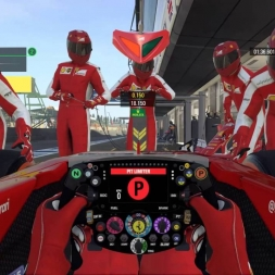 F1 2015 British GP Raikonen starting with Standard Tyres