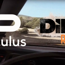 Dirt Rally Abies Koilada, Greece with the Oculus CV1