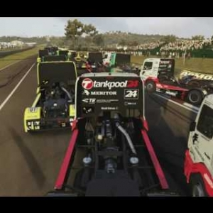 Truck racing at Mount Panorama: What could possibly go Wrong?