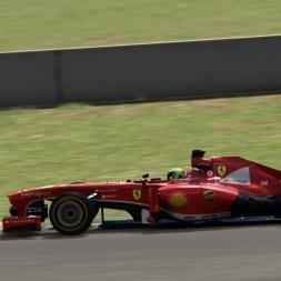 Assetto Corsa - Ferrari F138 Red Pack DLC | Mugello [External cam]