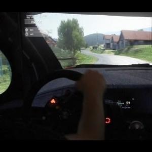 Assetto Corsa - Citroen DS3 WRC on Semetín
