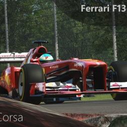 Assetto Corsa Ferrari F138 Alonso Onboard Monza