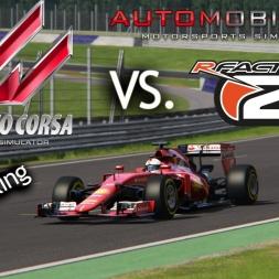 Assetto Corsa VS. rFactor 2 Vs. Automobilista @ Red Bull Ring Spielberg