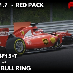 Assetto Corsa | Ferrari SF15-15 | Red Bull Ring | Formula 1 | Red Pack