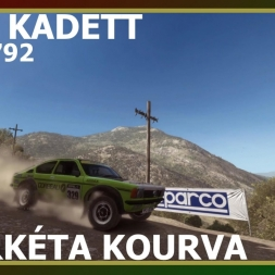 Dirt Rally - Opel Kadett - Fourkéta Kourva