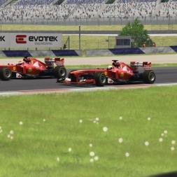 Assetto Corsa F138 - Charles vs. Enzo @ RedBull Ring