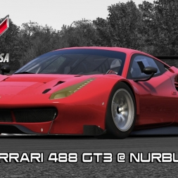 Assetto Corsa - New Ferrari 458 GT3 @ Nurburgring GP - Red Pack