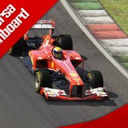 Assetto Corsa F1 2013 Ferrari F138 Onboard Mugello Red Pack DLC