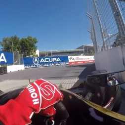 #INDYCAR In-Car Theater: Visor Cam with James Hinchcliffe at the Honda Indy Toronto