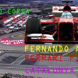 AssettoCorsa RED PACK v1 7 FERNANDO ALONSO FERRARI F138 SPAIN GP
