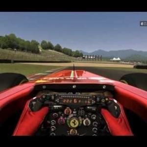 Ferrari F138 Muggello Hot Lap 1:23.635