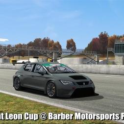 Seat Leon Cup @ Barber Motorsport Park - Automobilista 60FPS