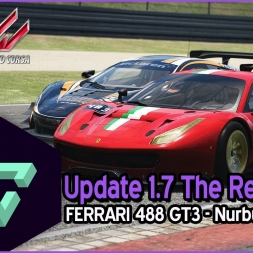 ASSETTO CORSA | THE RED PACK - UPDATE 1.7 | FERRARI 488 GT3 - NURBURGRING GT - ESPAÑOL HD -