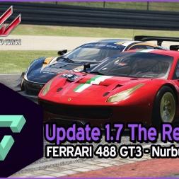 ASSETTO CORSA | THE RED PACK - UPDATE 1.7 | FERRARI 488 GT3 - NURBURGRING GT - ESPAÑOL HD -