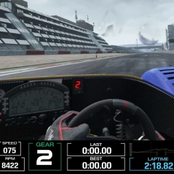 Oculus Rift CV1 - Test Project CARS - Radical @ Nurburgring Rain
