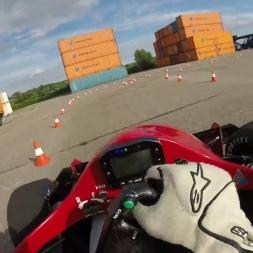 Formula Student - Drivers Eye - Highspeed Karlsruhe - Testing Hotlap