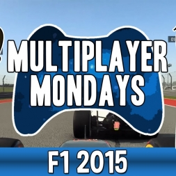 Multiplayer Mondays F1 2015 - Thats not squeezing thats crashing..