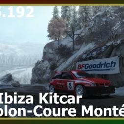 Dirt Rally - Seat Ibiza - Gordolon-Coure Montée