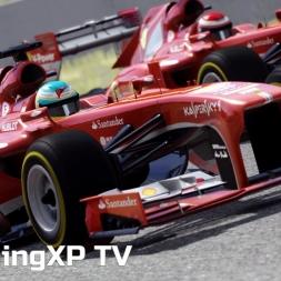 Assetto Corsa - DLC Red Pack - Ferrari F138 em Barcelona - Gameplay [PT BR]