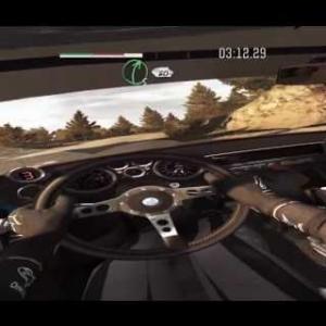 Dirt VR * first test with OCULUS RIFT at Dirt Rally