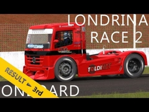 CzechSim Truck Championship 2013 | Londrina | R2 | Balazs Toldi Onboard