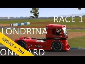 CzechSim Truck Championship 2013 | Londrina | R1 | Balazs Toldi Onboard