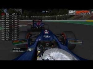 F1RFT 2011 | Singapore | Utolsó körök