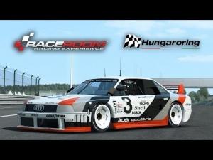 RaceRoom Racing Experience - Audi 90 quattro IMSA GTO @ Hungaroring (Get Real) [HD+])