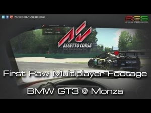 Assetto Corsa | First Raw Multiplayer Footage | Unedited
