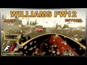 F1 2013 Classic Edition PC - Williams FW12 '88 (Wet Race) @ Estoril