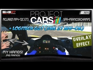 Project CARS # Overlay Effect - SWE 27 Add-On # McLaren MP4-12C GT3