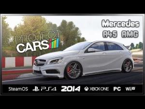 Project CARS - Mercedes A45 AMG @ Circuit de Barcelona-Catalunya
