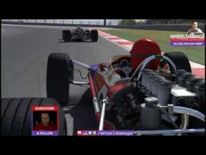 #iRacing 2014S2W2 Lotus 49 Grand Prix Legends COTA
