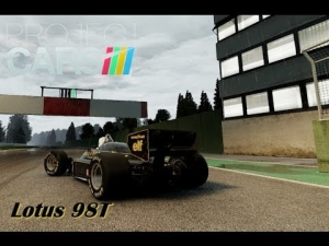 Project CARS: Lotus 98T em Imola