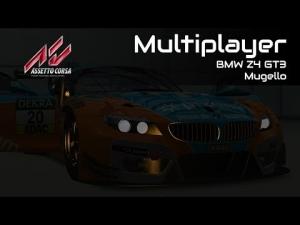 Assetto Corsa - Multiplayer Race #1 - BMW Z4 GT3 @ Mugello [1080p] [Cockpit+Replay]