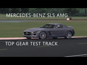 Mercedes-Benz SLS AMG | Top Gear Test Track