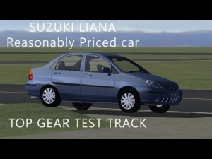 Suzuki Liana | Top Gear Test Track