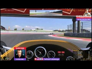#iRacing 2014S2W2 Lotus 49 Grand Prix Legends COTA 3