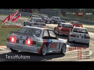 Assetto Corsa | VSR - GTR Masters - PSRL | Test Race #2 | Balazs Toldi OnBoard