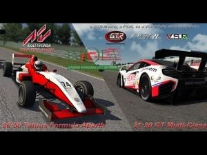 Assetto Corsa | VSR - GTR Masters - PSRL | Test Race #3 | Balazs Toldi OnBoard